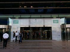Entrada World Trade Center en Dubai que acogió la 33a edición de The Big5 Show