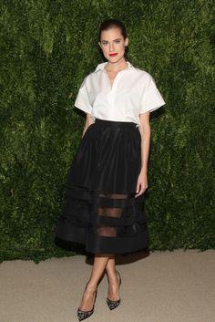 Allison Williams In Misha Nonoo – CFDA/Vogue 2013 Fashion Fund Finalists