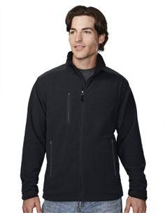 Men's Knit Fleece Jacket (100% Polyester)   Tri mountain 7635 #Fleece #Jacket #winter