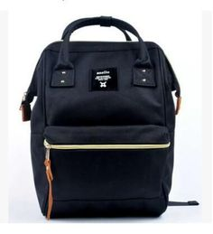 Waterproof Anello Japan Wide Mouthed Canvas Unisex Backpack Bag - Aluxea Iconic Goods