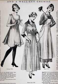 Left, Anne's underwear prop, should be shorter. Especially the Apron! Around the Home Women's Fashion 1915 1900s Fashion, Edwardian Fashion, Vintage Fashion, Women's Fashion, Medieval Fashion, French Fashion, Ladies Fashion, Fashion Styles, Fashion Brands