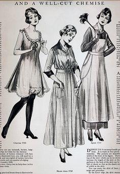 Around the Home Women's Fashion 1915 | von pixelnaiad