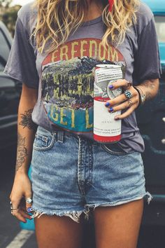 Freedom Get Lost Doheny Tee