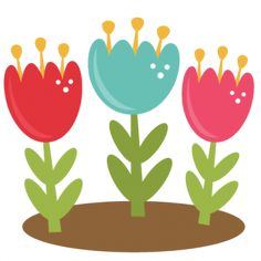Daily Freebie 2-25-14: Miss Kate Cuttables--Spring Tulips SVG cutting files for scrapboking tulip svg cut files free svgs