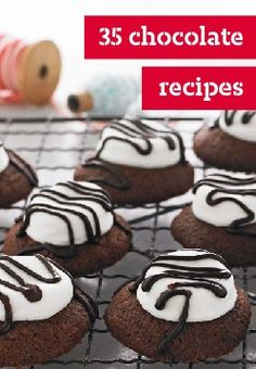 35 chocolate recipes – However you slice it, chocolate makes folks happy!