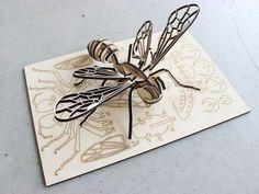 Bee Puzzle by Mutsuki - Thingiverse