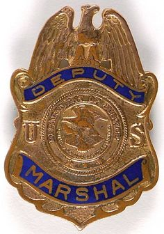 Ted Hinton Deputy US Marshal Badge on LiveAuctioneers Public Enemies, Us Marshals, Dallas County, Sheriff, Badges, 30th, Ted, Auction, Badge