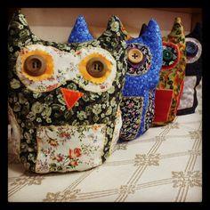 Owl doorstops  £8.50
