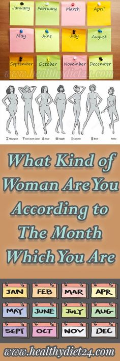 Did you know that the month that we are born in can say a lot about you? The birth month can determine the person's character and it affects everything, from attitude to career. Hence, it can influ… Wellness Tips, Health And Wellness, Health Advice, Health Care, Health Fitness, As You Like, Give It To Me, Healthy Tips, Stay Healthy