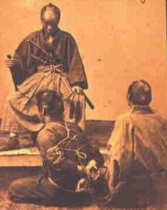 Vintage photo of a man bound in a hojojutsu tie.