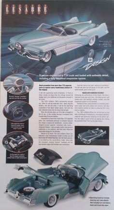 Franklin Mint 1951 Buick LeSabre Concept Show Car Brochure Only | eBay