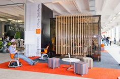 Stand Office next Moscow Office Solutions & Etoile