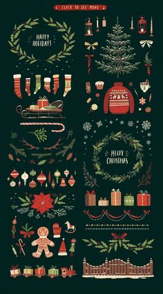 Time to create Christmassy greeting cards and decorations! Our new Christmas Big Pack will help you with it. Merry Christmas Everyone, Christmas Cards To Make, Christmas Mood, Vintage Christmas, Christmas Crafts, Christmas Decorations, Xmas, Christmas Patterns, Christmas Stickers