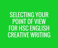 How to Develop Your HSC Creative Writing Idea for Discovery LEARN THE ESSENTIALS FOR ACHIEVING HSC SUCCESS