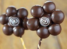 Flor no Palito | Receitas | Harald Chocolates e Coberturas – Brasil