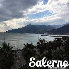 I love Salerno! ORIGINS ITALY www.originsitaly.com #originsitaly #Italy #italia #italian #campania #coast #mountain #sea #Mediterranean #water #sunset #sky #clouds #genealogy #genealogia #origins #italianamerican #italie #travel #lungomare #Salerno #ancestry #ancestors
