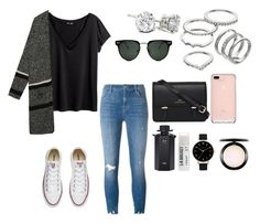 """""""Untitled #1085"""" by alyssakate96 on Polyvore featuring J Brand, H&M, WithChic, Converse, Apt. 9, Spitfire, Sloane, Gucci, Toast and Olivia Burton"""