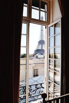 Paris, Tour Eiffel, view out of my window Belle France, Beautiful Paris, Belle Villa, Paris Apartments, Through The Window, Paris Travel, Adventure Is Out There, City Lights, Oh The Places You'll Go