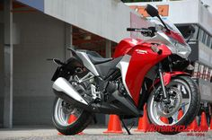 cbr250... I want this!! <3