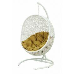 Выбрали Плетеное подвесное кресло Lunar White