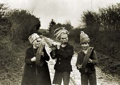 """The wren was sacred to Celtic druids, and to the Welsh poet-magician Taliesin, thus it was unlucky to kill the wren at any time of year except during the ceremonial """"Hunting of the Wren,"""" around the winter solstice. In this curious custom (still practiced in some rural areas of the British Isles and France), """"Wren Boys"""" dress in rag-tag costumes, bang on pots, pans and drums, and walk in procession behind a wren killed and mounted upon a pole decorated with oak leaves and mistletoe."""