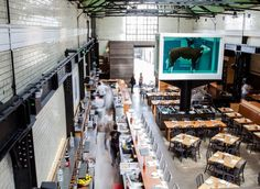 Tramshed Mark Hix's idea is simple; it's steak or chicken to share.