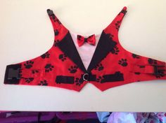 Dog Waistcoats for all small breed dogs by Preciouspupboutique