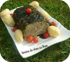 Terrine de chou au thon