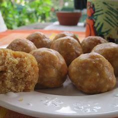Receita Bolinhos de Batata Doce Sem Gluten por Luidji - Categoria da receita Bolos e Biscoitos