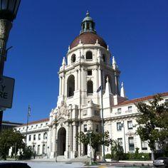 Chapter 14 Spanish Colonial Revival: Pasadena City Hall (1927) Pasadena, California. Architect: John Bahewell and Arthur Brown.