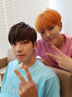 Wonwoo+hosh= woosh