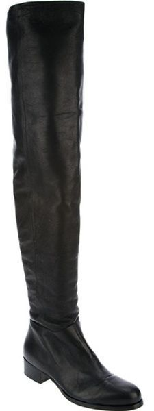 c0a047f3876 Jimmy Choo Thigh High Boot Flat Boots
