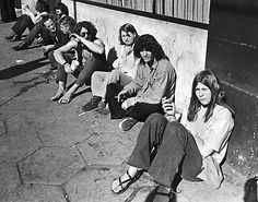 Haight Street (San Francisco), 1967 ~ The Haight-Ashbury neighborhood is known for its history of, and being the origin of hippie subculture.…