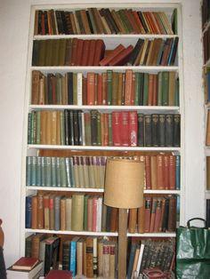 Patrick Leigh Fermor's bookshelves