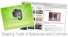 The French Corner: Using Evernote to Keep Track of Activities and Resources
