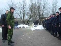 #Ukraine. Horlivka. Fake show. Special agent of non-legitimate government Ukraine 14.04.2014