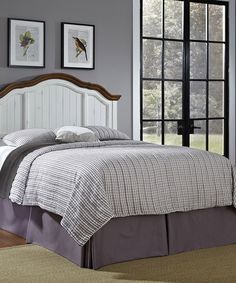 Look what I found on #zulily! White French Countryside Full/Queen Headboard #zulilyfinds