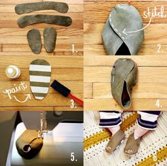 Baby moccasin steps - awesome!! I'm making these x)