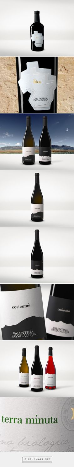 Valentina Passalacqua Wine Packaging of the World - Creative Package Design Gallery - http://www.packagingoftheworld.com/2016/01/valentina-passalacqua.html