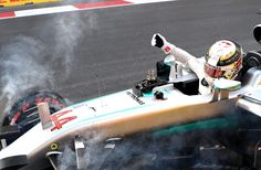 Lewis Hamilton crashed out in qualifying for the European Grand Prix after a series of mistakes