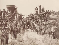 This photo is from the ceremony for the driving of the golden spike at Promontory Summit, Utah in It marked the completion of the First Transcontinental Railroad and features members of the Central Pacific Railroad and the Union Pacific Railroad. Bolivia Travel, Belize Travel, Costa Rica Travel, Vacation Travel, Vacation Ideas, Travel Destinations, Thomas Jefferson, Cayman Islands, Us History
