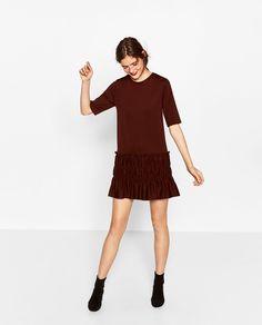 GATHERED HEM DRESS-NEW IN-WOMAN | ZARA United States