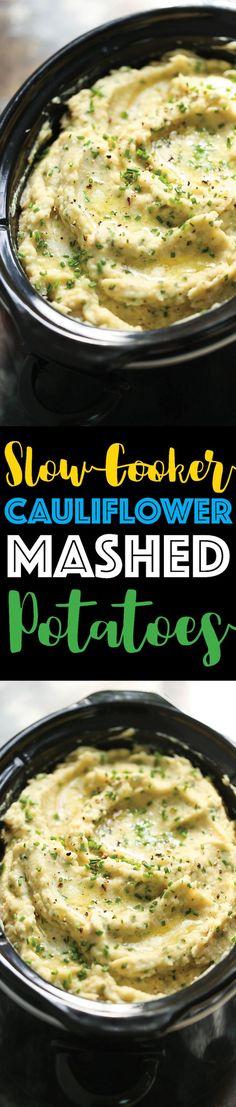 Slow Cooker Cauliflo