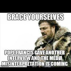 catholic memes | HAHA THANK YOU CATHOLIC MEMES! TRUTH! DON'T BELIEVE THE MEDIA MY ...