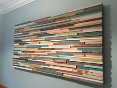 Wood Wall Art- Reclaimed Wood Art - Painting on Wood - Unique Headboards Popular Woodworking, Woodworking Plans, Woodworking Projects, Wooden Wall Art, Wood Wall, Unique Headboards, Reclaimed Wood Art, Picture On Wood, Wood Sculpture