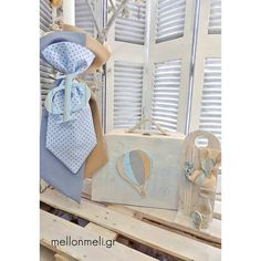 "Set Βάπτισης ""Αερόστατο"" βαλίτσα/μπαούλο First Birthdays, Flora, Home Decor, One Year Birthday, Decoration Home, Room Decor, Plants, Interior Design, Home Interiors"