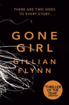 Gone Girl Book Cover; Who are you?  What have we done to each other?    These are the questions Nick Dunne finds himself asking on the morning of his fifth wedding anniversary, when his wife Amy suddenly disappears.