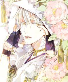 Touken Ranbu 刀剣乱舞 Cute Anime Guys, I Love Anime, Manga Hair, Anime Kimono, Boy Art, Manga Pictures, Touken Ranbu, Japanese Art, Cute Art