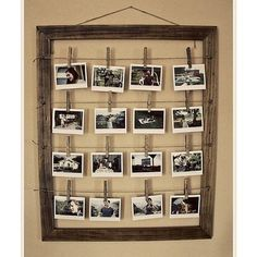 Instead of picture frames