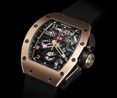 "Richard Mille RM 011 Felipe Massa Flyback Chronograph ""Red Kite"" #RichardMille #luxurywatch"